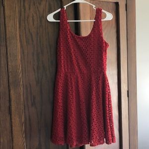 Lily Rose Red dress